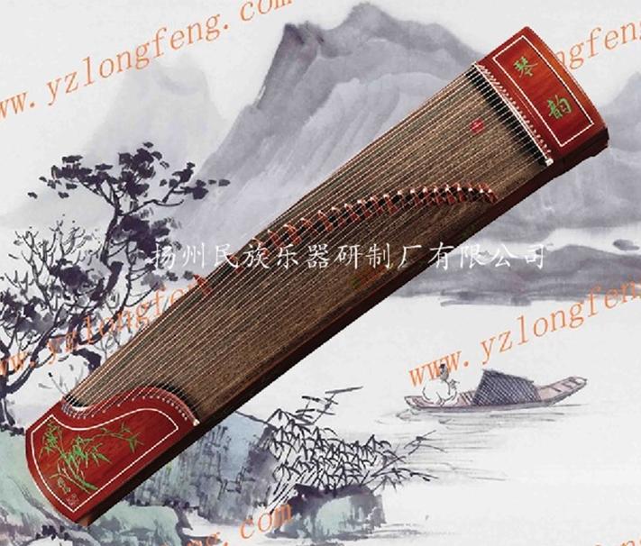 三明龙凤 刻竹筝