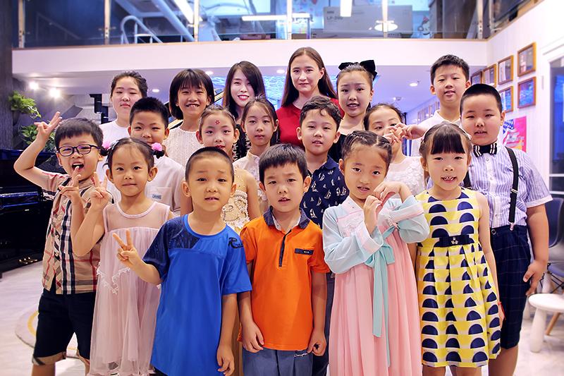 贾君老师和刘济娜老师音乐会